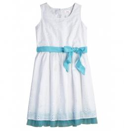 White Eyelet Dress from Justice