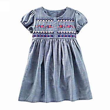 Oshkosh Short Sleeve Babydoll Dress