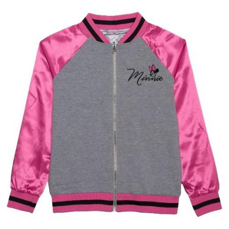 Girls' Minnie Mouse Bomber Jacket