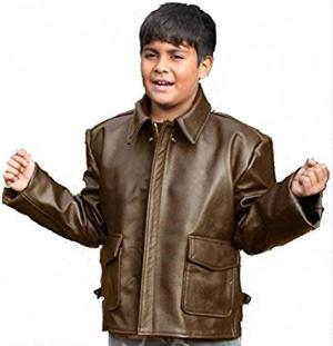 Kid's Indiana Jones Bomber Jacket