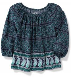 Printed Boho Top for Girls