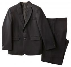 Dockers Boy's Husky Solid Herringbone Suit