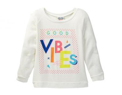 JUNKFOOD Good Vibes Pullover Sweater