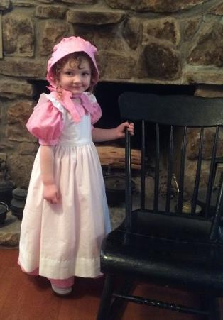 Little House Pioneer Dress