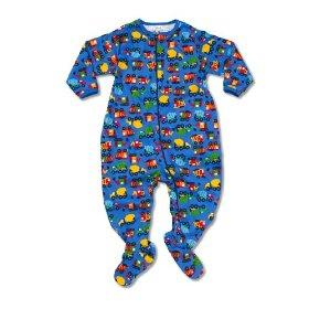 Trucks footed pajamas