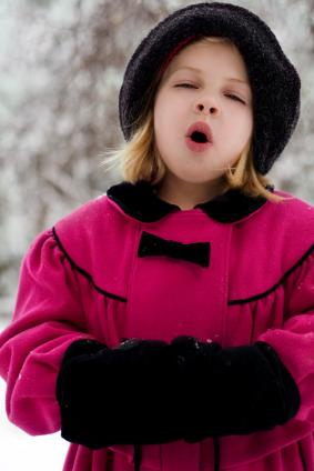 Girls' Victorian Winter Clothing