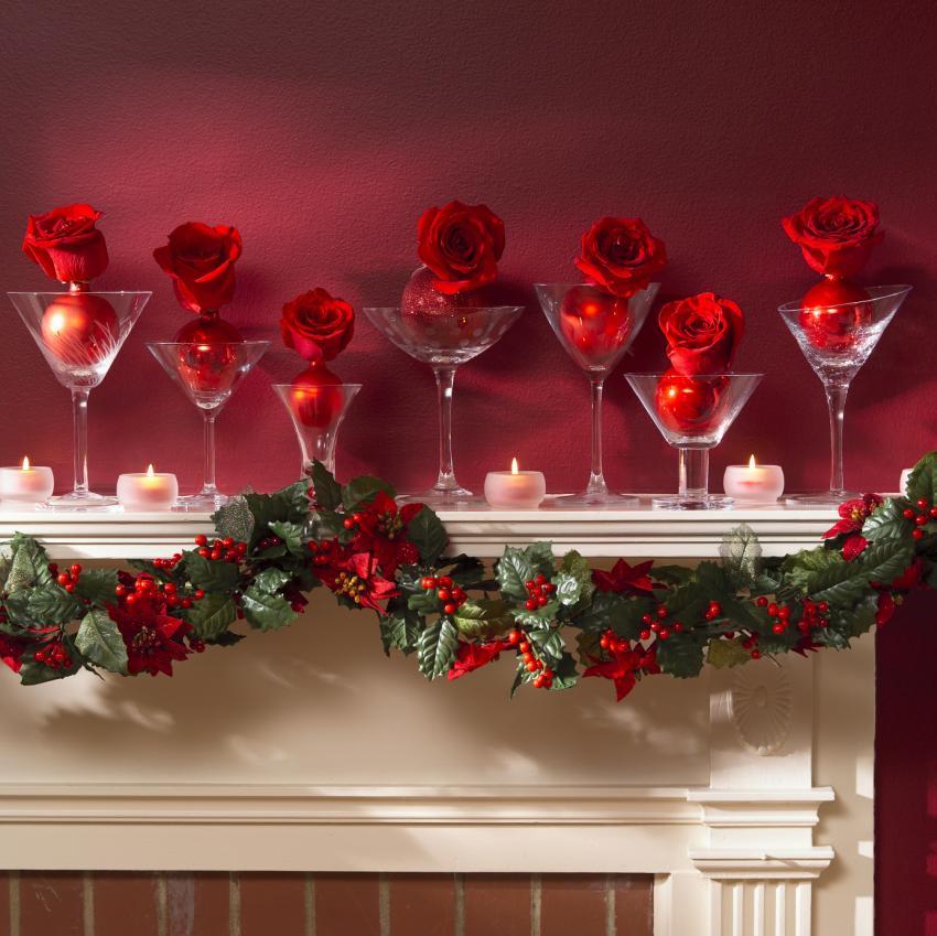 Mantel Christmas Decoration Ideas Gallery [Slideshow]