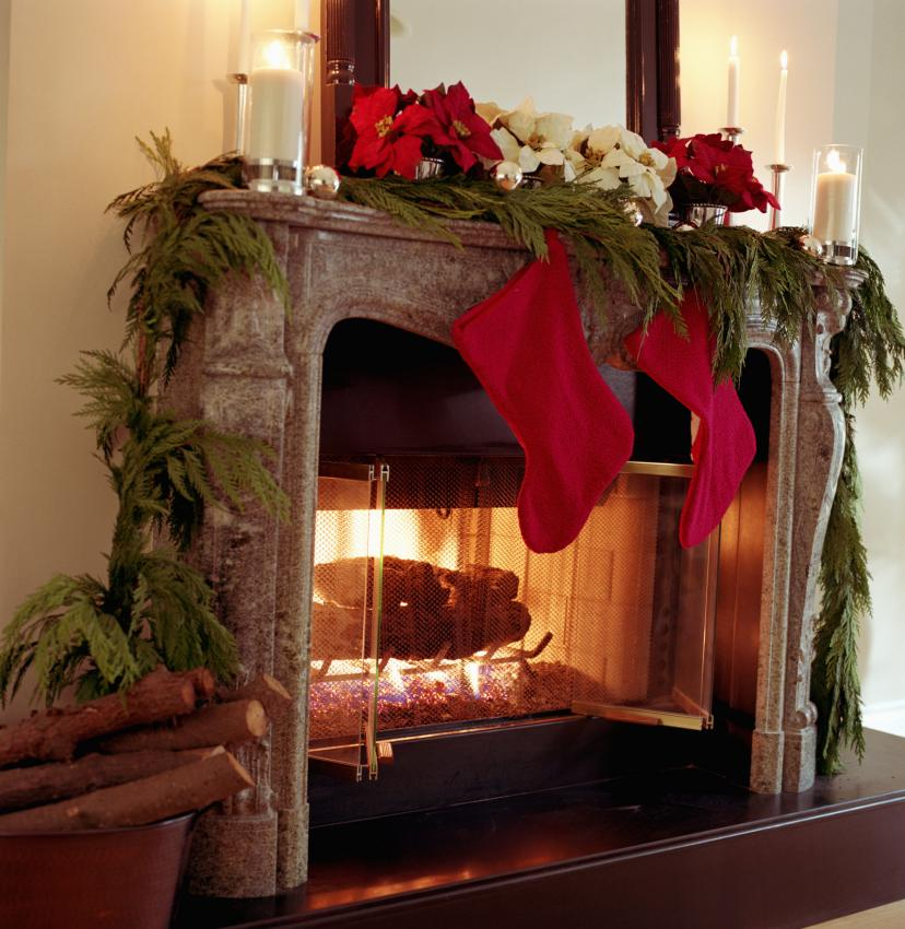 Mantel Christmas Decoration Ideas Gallery Slideshow