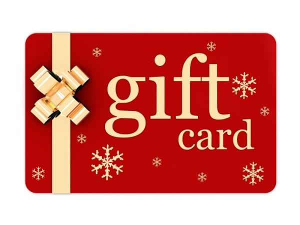 Gift card christmas gift ideas
