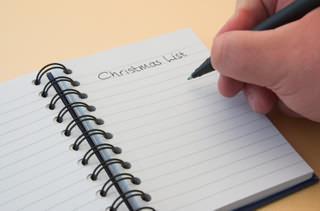 Making a Christmas list