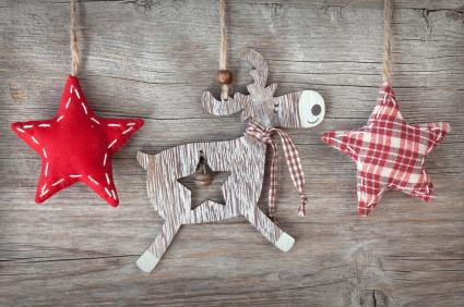 rustic ornaments - Rustic Christmas Decorations