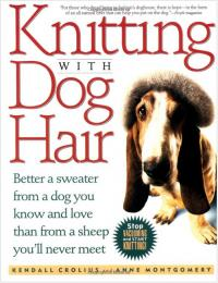 Knitting with Dog Hair book