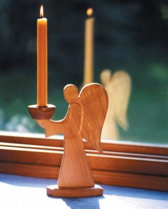 Angel Candleholder from Nova Natural Toys & Crafts