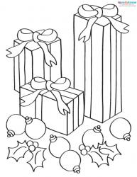 Christmas Pictures to Color 1
