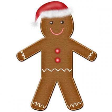 gingerbread man clip art