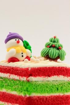 Frosty Christmas Cake