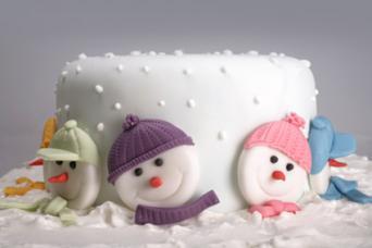 Snowman Cake Embellishments
