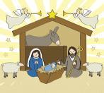 Christmas Clip Art 9 nativity