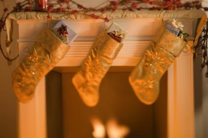 gold stockings