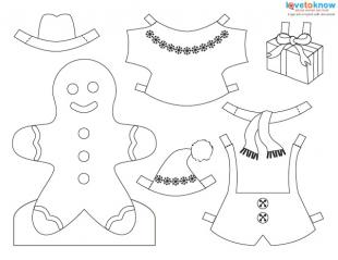Printable Christmas Paper Dolls  LoveToKnow