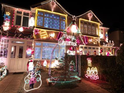 animated Christmas lights