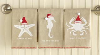 Holiday Guest Towel Set