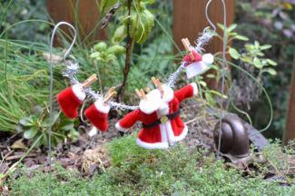 Fairy Garden Miniature Santa Suit