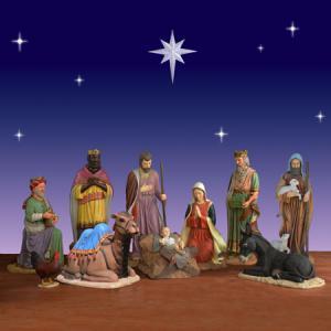 Life-Size Nativity Set