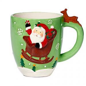 Pfaltzgraff® Holiday Santa Figural Mug