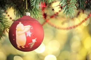 Pooh Christmas ornament
