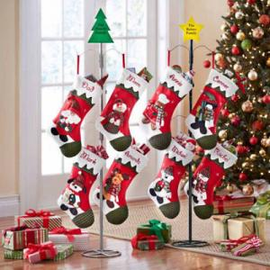 metal christmas stocking holder - Stocking Hangers For Mantle