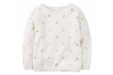 Glitter Dot Sweater