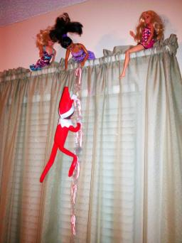 Elf on the Shelf Ladder