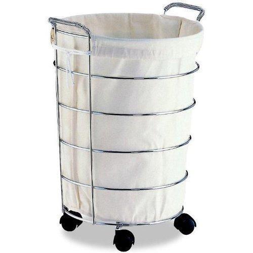 Laundry basket on wheels slideshow - Laundry hamper wheels ...
