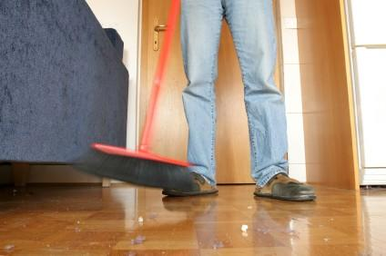 Cleaning a Laminate Floor