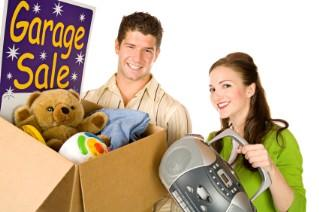 Organize a sale while organizing your house.
