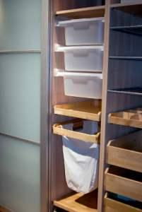 Closet storage containers
