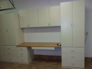 Garage Cabinets by Closets by Design of Palm Beach