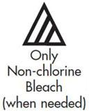 only non-chlorine bleach symbol