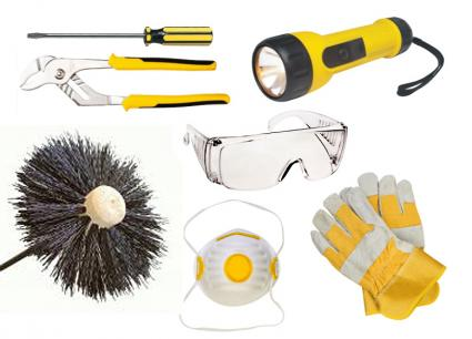 Chimney Cleaning Tools