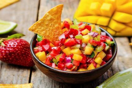 Salsa con mango