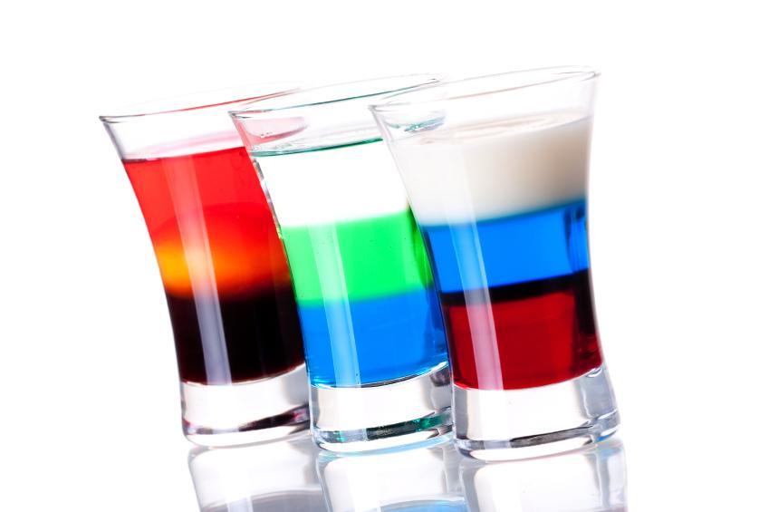 Party Drinks Vodka Jelly