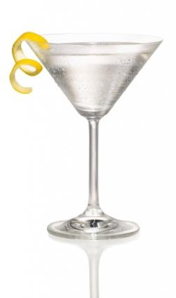 A delicious lemon drop martini is a wonderful classic cocktail.