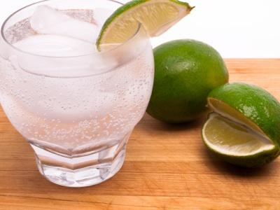 Vodka, lime, sugar and ice
