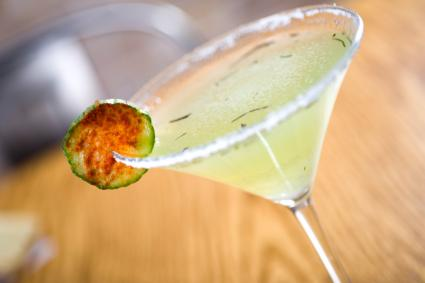 How to Make Cucumber Martinis