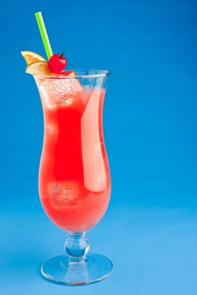 Alcoholic Drink The Hurricane