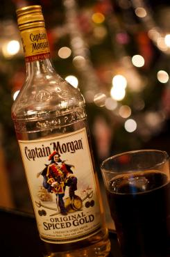 Drinker med captain morgan