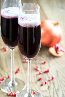 Sparkling Pomegranate drink