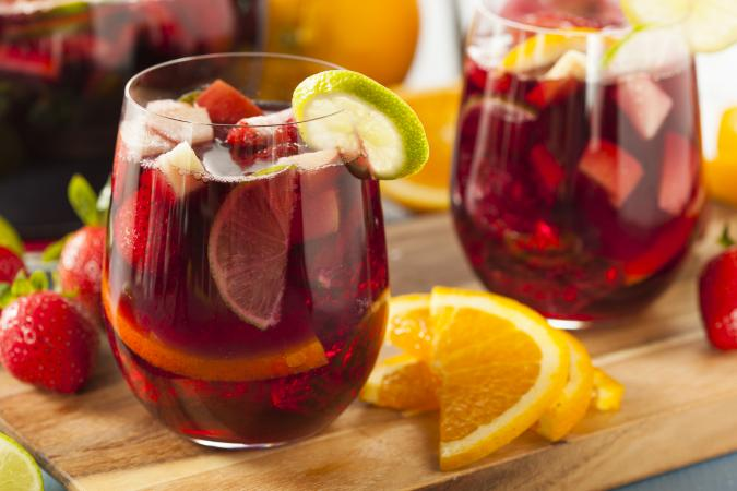 how to make punch with vodka and wine
