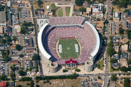 Football Stadium in Tuscaloosa, Alabama